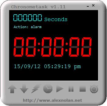 Chronometask 1.1 миниатюрный таймер практически обратного отсчета