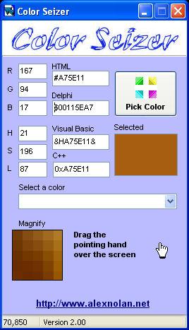 Windows 7 Color Seizer 2.07 full