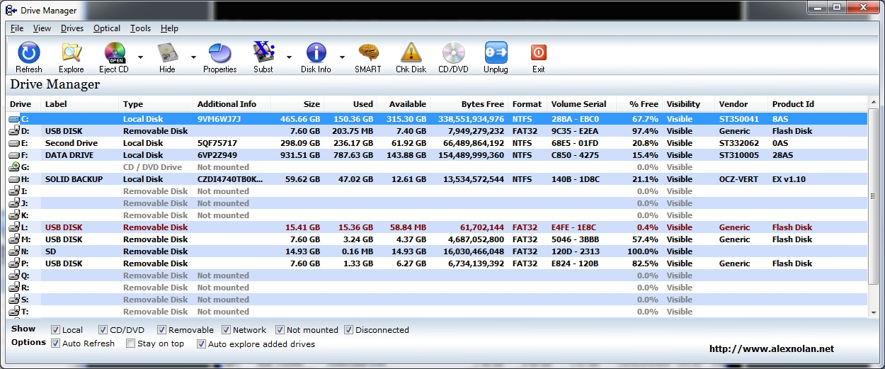 Drive Manager 4.20 full