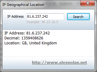how to find ip address for scanner