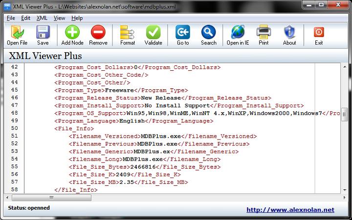 Xml viewer portable